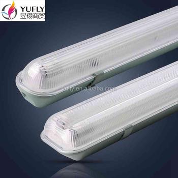 T8 1x58w T5 1x35w Ip 65 Waterproof Fluorescent Lighting Fixture ...