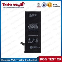 OEM phone battery with high quality, original battery for iphone 6 in 3.8V