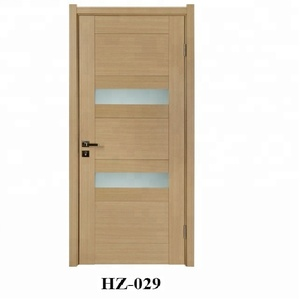 Luxury Interior Solid Wood Modern Bedroom Door Design