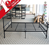 Manufacture direct selling designer stainless steel double bed frame