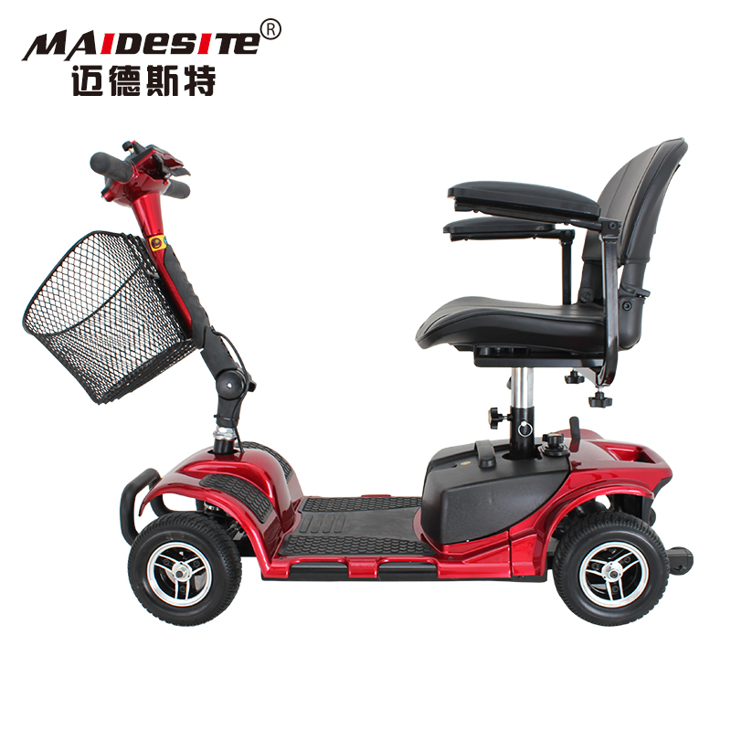 New type cheap price 4 wheel disabled electric elderly scooter