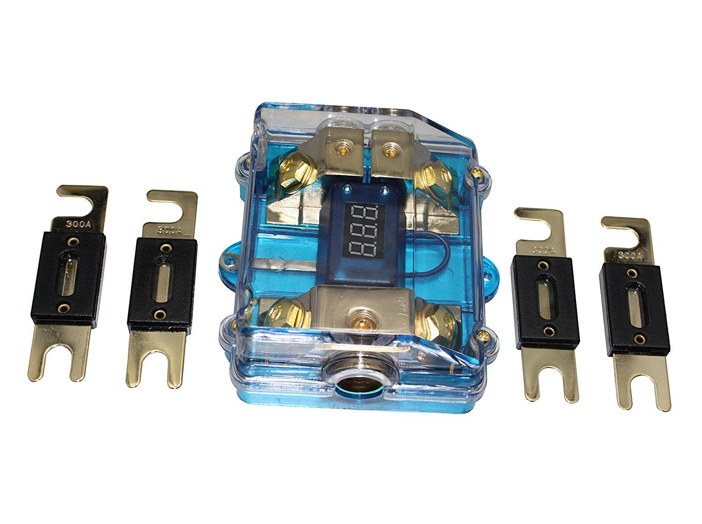 150A ANL Dual Digital Platinum ANL Distribution Block 0-4 Ga Fuse Holder