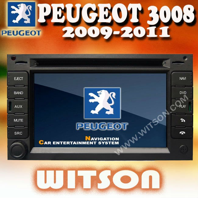 witson peugeot 3008 double din car radio with digital 800x480 touch rh alibaba com Peugeot 5008 Peugeot 308