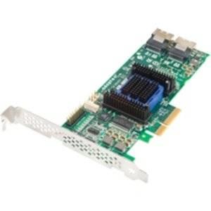 """Adaptec, Inc - Adaptec 6805E 8-Port Sas Raid Controller - Serial Ata/600 - Pci Express 2.0 X4 - Plug-In Card - Raid Supported - 0, 1, 10, 1E, Jbod Raid Level - 2 Sas Port(S) """"Product Category: I/O & Storage Controllers/Scsi/Raid Controllers"""""""