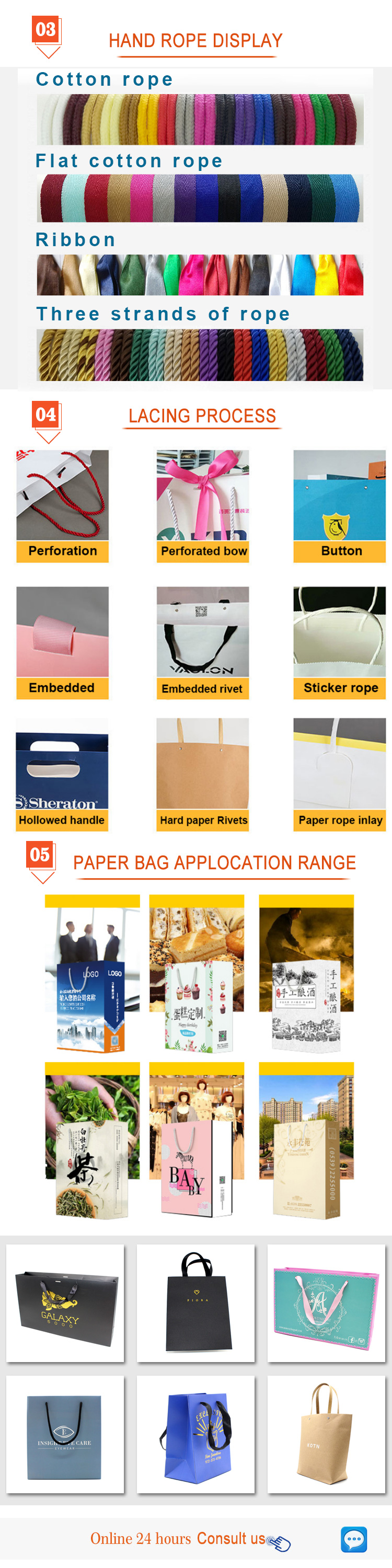 Wholesale Custom Printed Paper Shopping Bag Cheap Brown Paper Bags With Handles