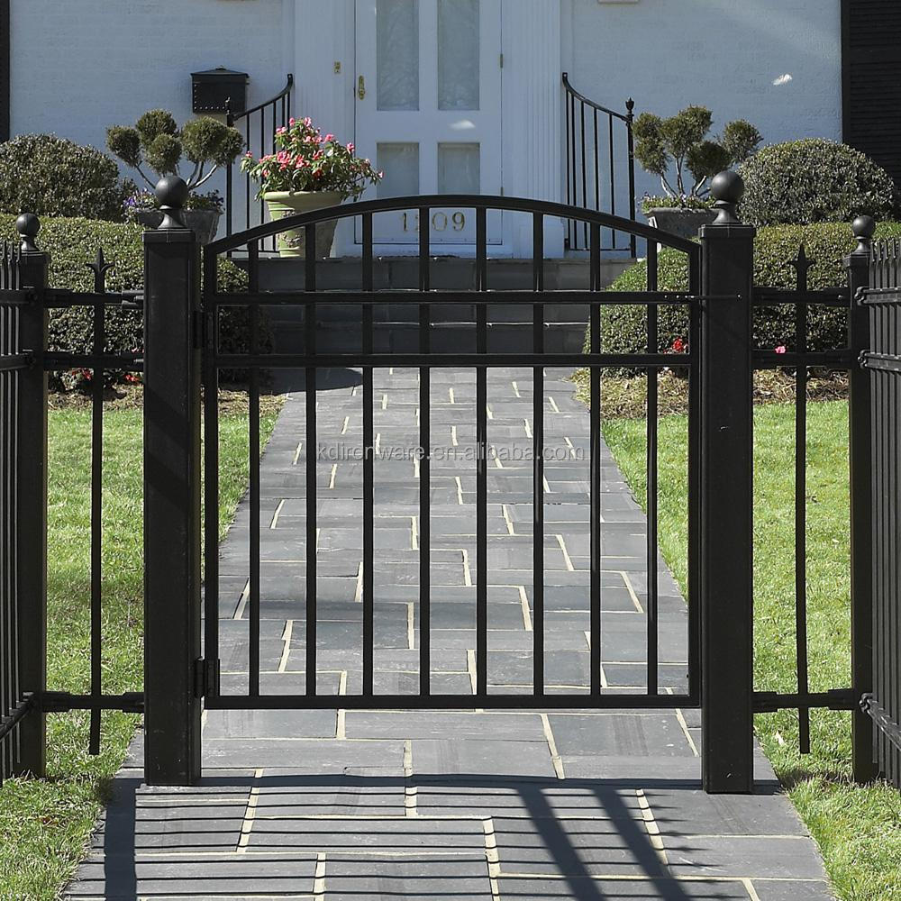 Garden and House Decorative Wrought Iron Design Metal Gates View