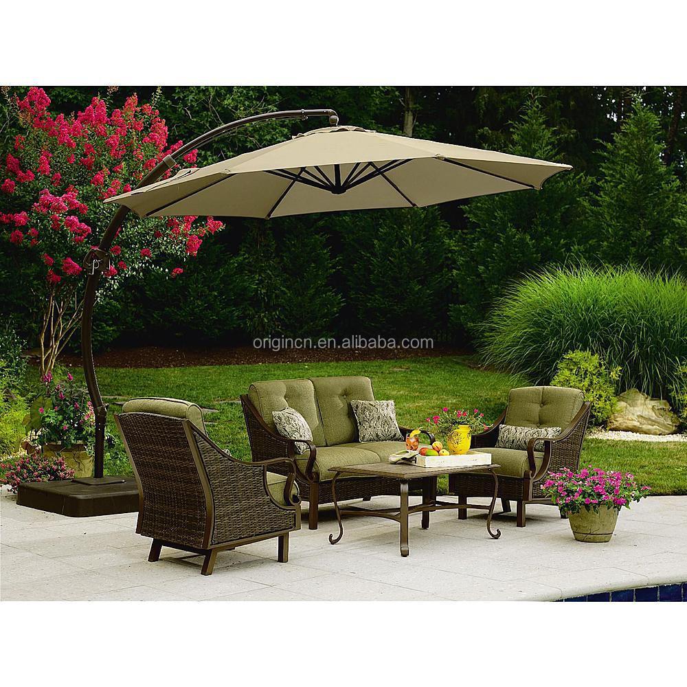 Rattan Balcony Garden Sofa Set