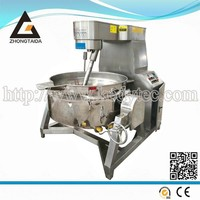 Industrial Stainless Steel Cooking Pots/Steam Cooking Pan with Scrapers /Steam Jacketed Kettle