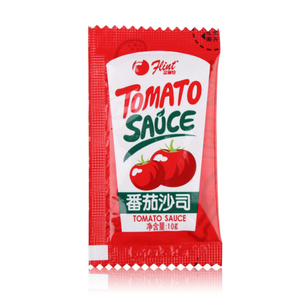 china supplier custom printing spice packaging plastic material condiment packets