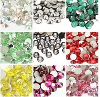 Plastic resin material and round shape rhinestones in bulk acrylic stone
