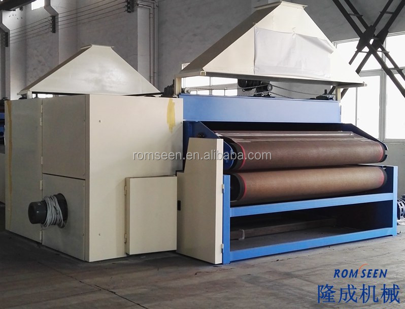High efficient nonwoven fabric thermal bonding machine