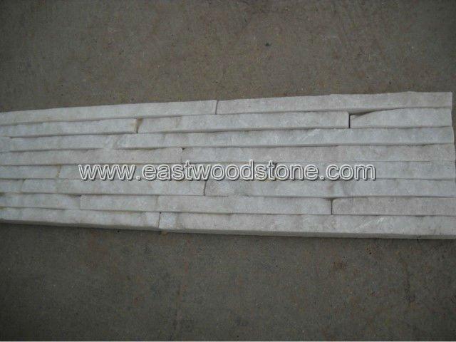Rivestimento in pietra bianca ardesia id prodotto:500213787 ...