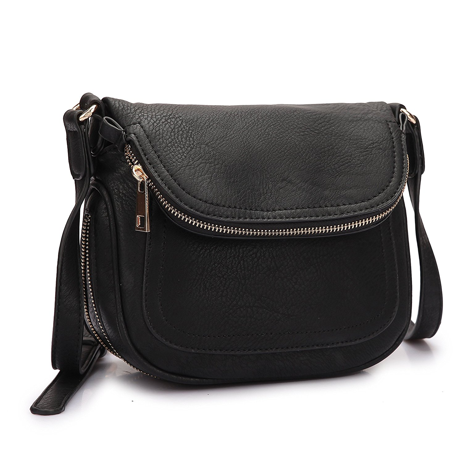 MMK collection Crossbody Bag ~Messenger Purse(2830)~ Crossbody Bag for Women~multiple pocket Messenger handbag.