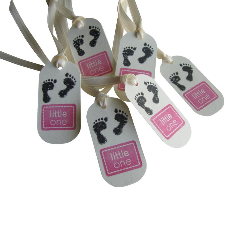 GM001012 Craft paper gift cloth wedding printing hang tag label