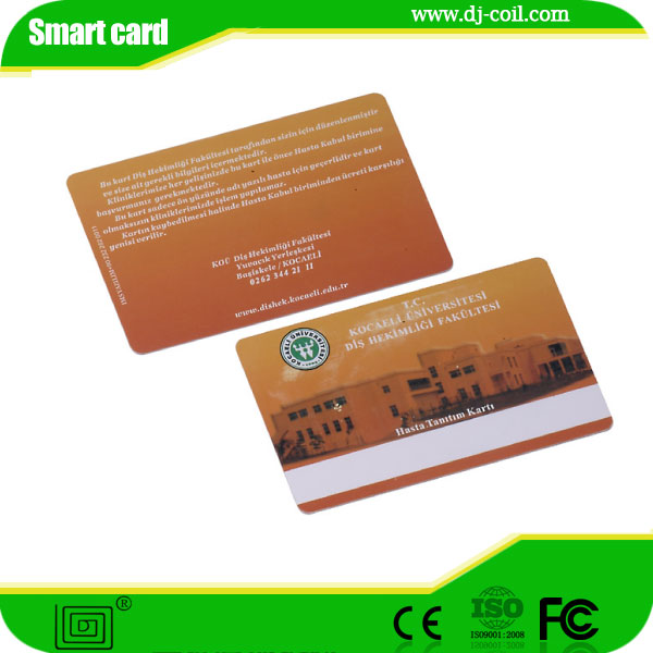 embossing Nfc Paper Business Card with cheapest price