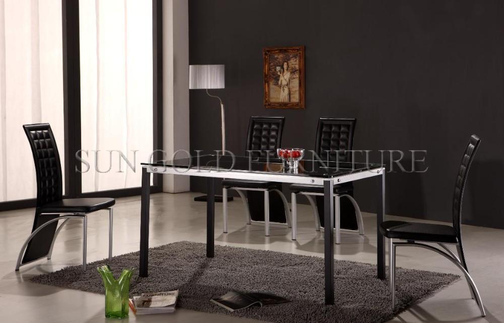 Nieuwe rvs eettafel ontwerpen moderne thuis eetkamer meubels sz dt103c buy product on - Moderne eetkamer set ...