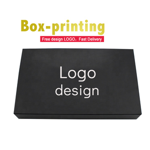 Popular luxury black magnetic book shaped cardboard jewelry gift T shirt packaging boxes with magnet closure