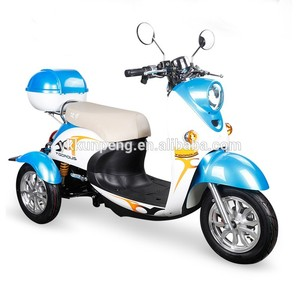 Hot sale machine closed cabin mobility scooter
