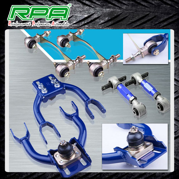 Rear Lower Control Arms Front Upper Camber Kit Fits For Honda Civic EK