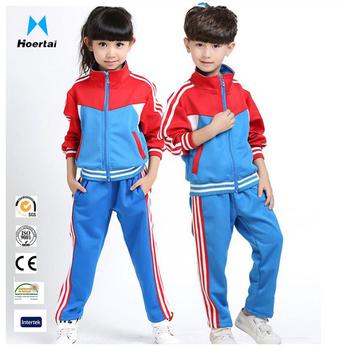 1c8dc57a39df59 Wholesale Adults Kids Primary School Uniform Boys Girls Autumn Cotton  Tracksuits Sports Suit