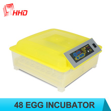 Newest Transparent Base Automatic Poultry Mini 220v chicken incubator egg hatching machine Wth CE approved YZ8-48