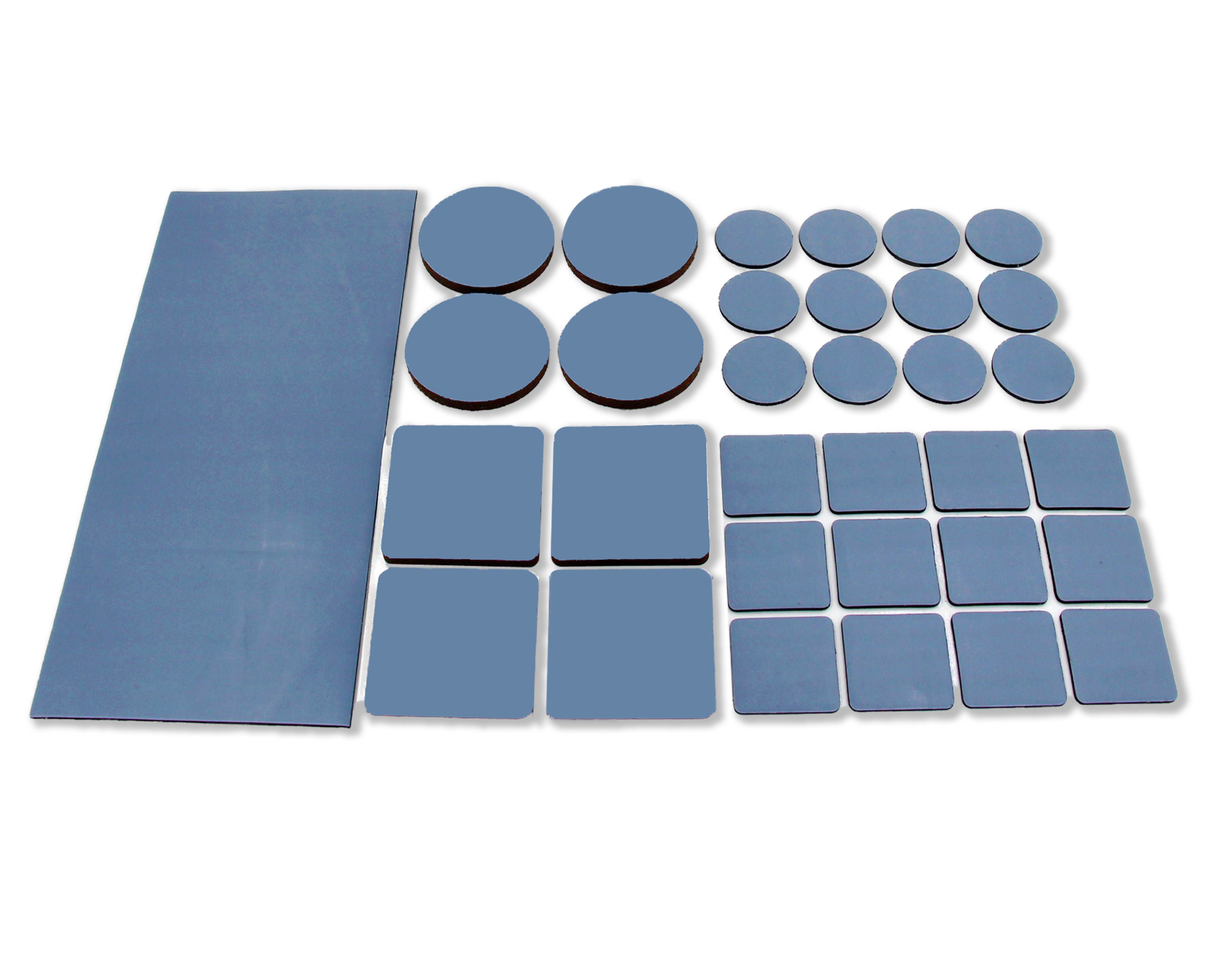 Self Adhesive Protective Wooden Flooring Protection Felt Protect Pads 24 Square