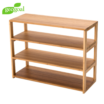 Build Free Standing Shelves/bamboo Free Standing Shelves For Closet