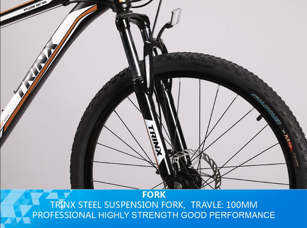 Trinx Upgraded Product--m186 Alloy Mountain Bike With 21 Speed ...