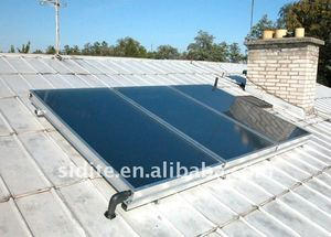 EN12975 / SRCC flat plate solar thermal collectors for pool