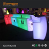 Double deck Snake LED bar Counter Plastic mobile Bar with LED lighting