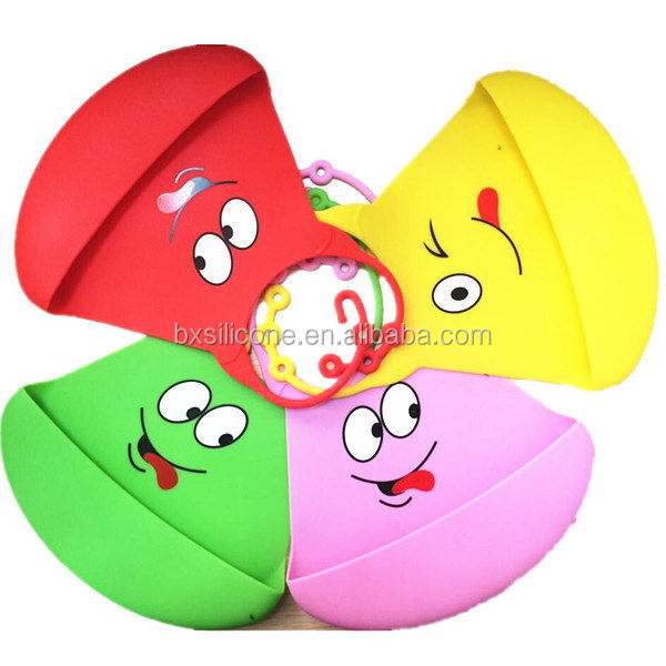 Best quality most popular hot selling cute silicone baby bibs