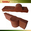 Terracotta red clinker wall thin brick tile exterior facade wall
