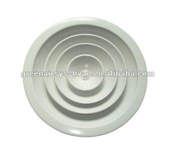 Circular Ceiling Diffuser,adjustable Ceiling Diffuser ,round Supply Air  Grille
