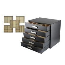 Extra Large Jewelry Box Cabinet with 5 Drawers