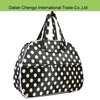 Factory price portable stripes waterproof polyester travel sport tote bag