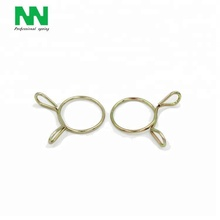 Custom Flexible Flat Metal Stainless Steel Wire Retaining Spring Clips