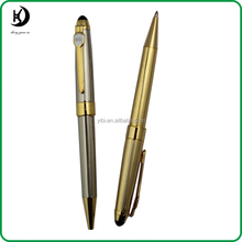 2015 new promotional business gift branded silver metal ballpoint pens JD-SL031