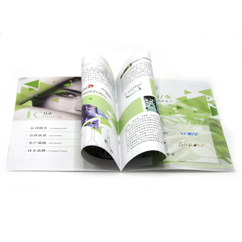 Good quality custom coloring a4 a5 catalogue / brochure / booklet printing with factory price