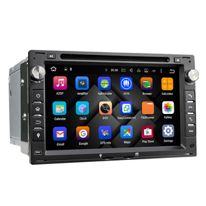 Eunavi 2 Din 7'' Android 8.0 Car DVD Player Quad Core GPS Radio For VW/Volkswagen/PASSAT/B5/MK5/GOLF/POLO/TRANSPORTER Stereo BT