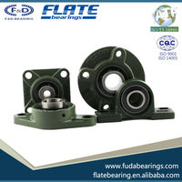 2015 F&D FLATE High speed low noise high automobile accessories Gcr15 High Precision bearing UCFL210-31