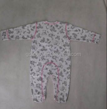 Infant Baby Fleece Romper Overall Neck Oem Design Baby Clothes Buy