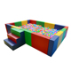 High quality customized kids ball pool colorful soft play ocean ball pool for kids indoor playground