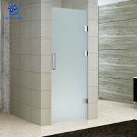 KD3002 Shower Cubicles Hinge Glass Shower Frosted Glass Door