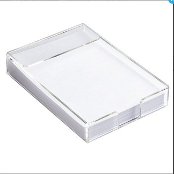 Acrylic Notepad Holder,Sticky notes paper holder