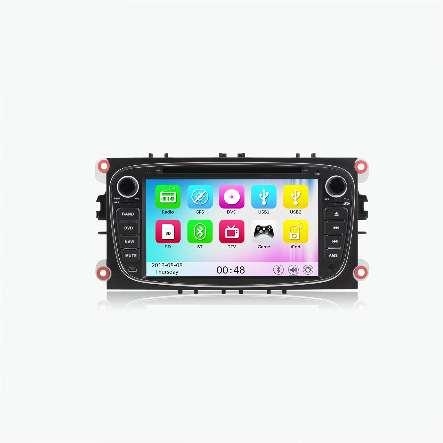 7 Touchscreen Monitor Car Gps Navigation System For Ford Focus 2007 2010
