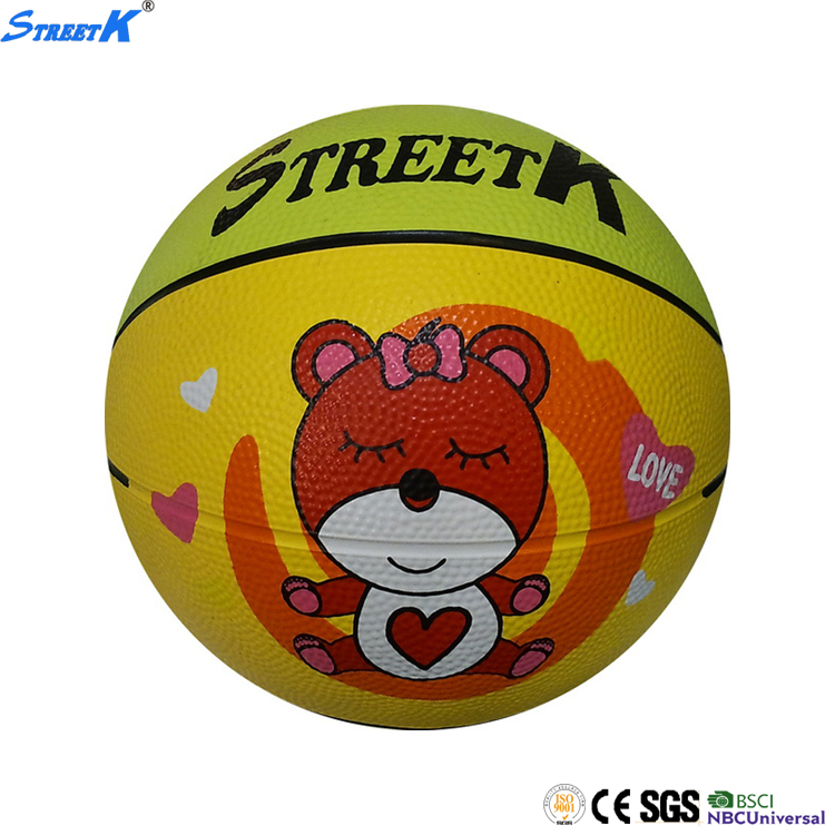 Size 7 / 6 / 5 / 3 / 2 / 1 # mini outdoor indoor rubber basketballs