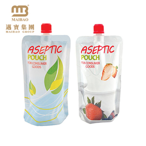 Free Sample Custom Standing Plastic Aluminum Foil Juice Drink Spout Pouch Bag For Liquids With Cap