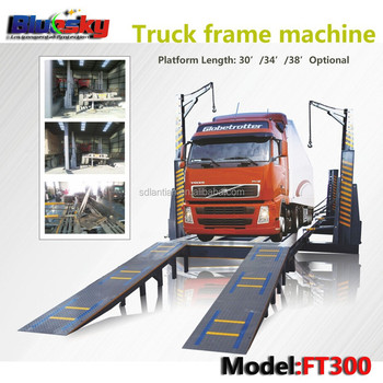 Hot Sale Body Chassis/frame Straightening Rack/heavy Duty Truck ...