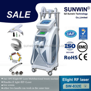 Epilator laser hair removal machine ipl depilators, diode laser shr, elight rf and nd yag laser