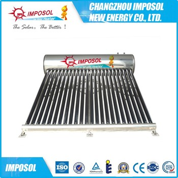 Passive Gravity-fed Solar Water Heater Central Heating,Cheap Solar ...
